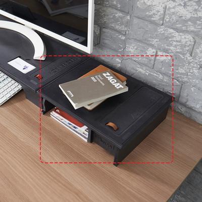 에코모니터보조받침대-블랙색상 컬러에코9T