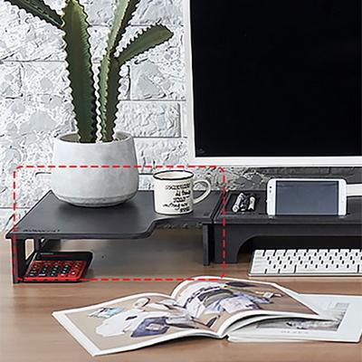 에코선반형코너받침대-블랙색상 컬러에코보드9T