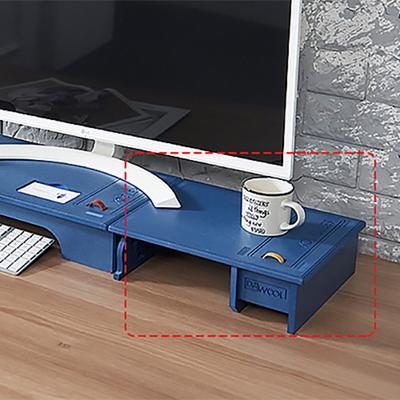 에코모니터보조받침대-블루색상 컬러에코9T