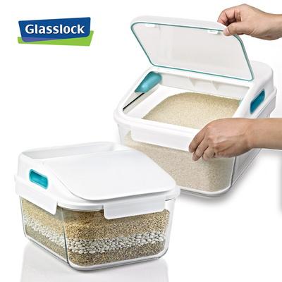 글라스락 유리 쌀통 12kg_1조
