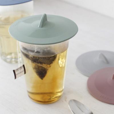 파스텔 실리콘 다용도 컵 덮개 뚜껑