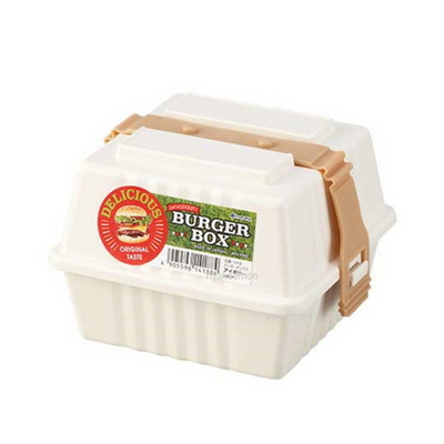 일본 햄버거 도시락통 소풍 런치박스