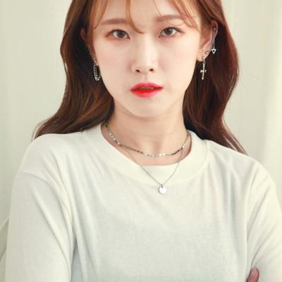 써지컬스틸 블링투라인 초커.코인목걸이 SET특가