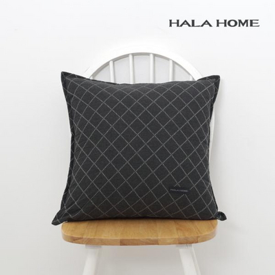 하라홈 패턴 시리즈 순면 쿠션 방석 커버 모음 50x50