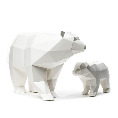 페이퍼오브제 (북극곰) 2EA