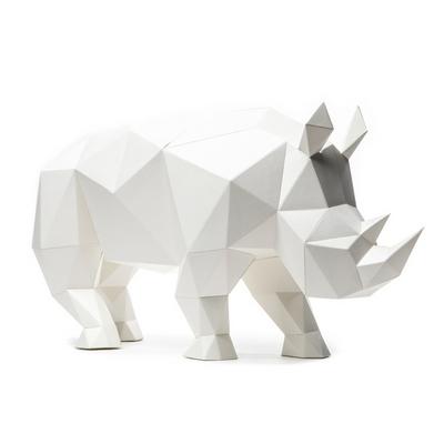 페이퍼오브제 (코뿔소)