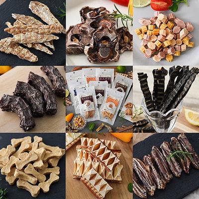 코스믹펫 강아지 수제간식 맛보기 소용량간식 8종 모음