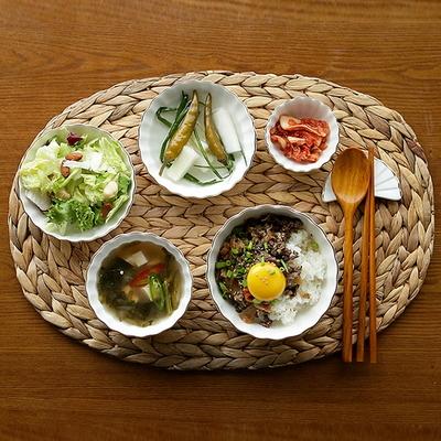 씨온 해초 타원형 식탁매트 1p