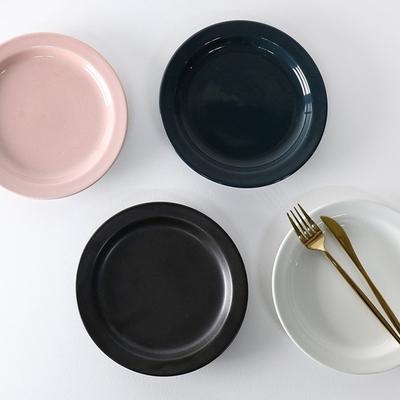 하스 플레이팅 접시 4color 1p