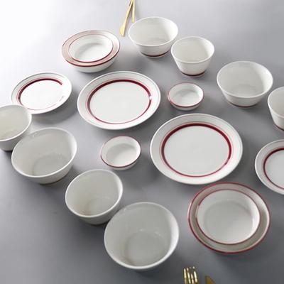 라인 4인 그릇 홈세트 3color 선택