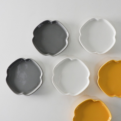 구름꽃 앞접시 4.5인치 3color 선택