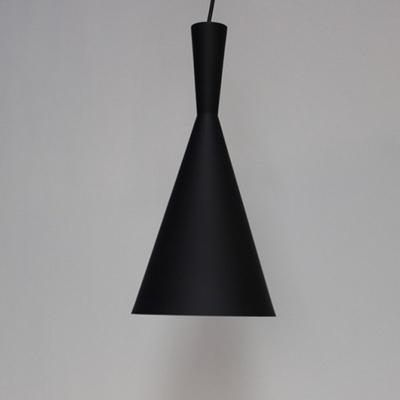 카페조명 꼬깔블랙 팬던트 식탁등