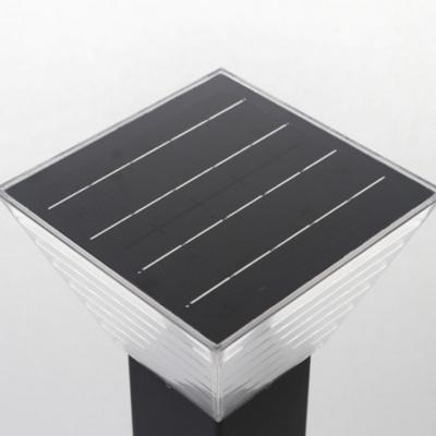 LED태양광 잔디등 정원등 큐브 600MM 스위치형 전구색 주광색