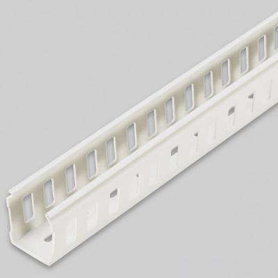 PVC닥트 랜덕트 몰딩전선정리 40X80 2M 바디
