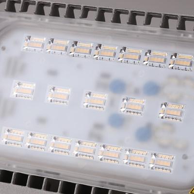 사각 LED 투광기 50W 노출형 전구색 BVP 161 WW
