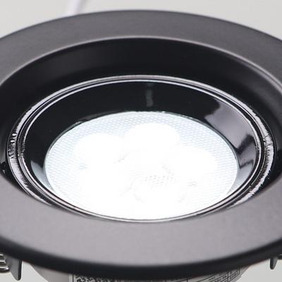 MR-16 LED 일체형 5W 블랙 주광색
