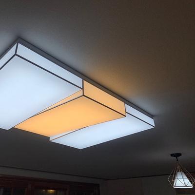 LED거실등 피아노 150W 주광색 전구색 혼합