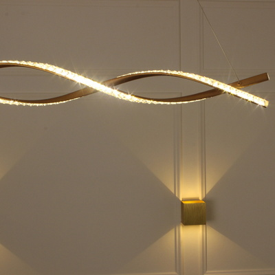 LED 식탁등 큐빅 꽈배기 40W