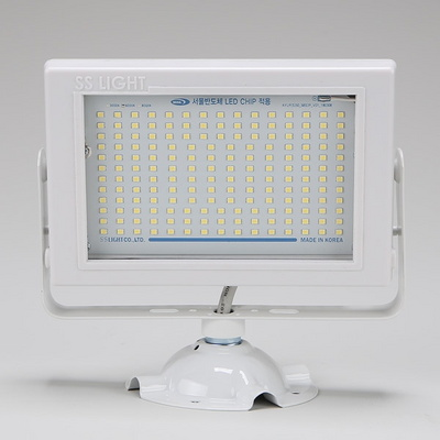 SS 사각LED투광기 화이트 50W 노출형 주광색6.0K
