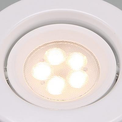 LED매입등 다운라이트 MR-16 LED 일체형 계단형 5W 화이트 전구색