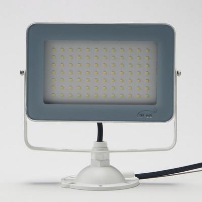 LED 투광기 사각 화이트 슬림형 30W 노출 주광색