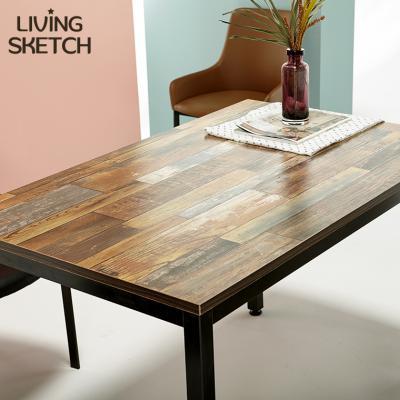 [리빙스케치]보 그 1200x750 빈티지 테이블 철제책상 티테이블 다용도테이블