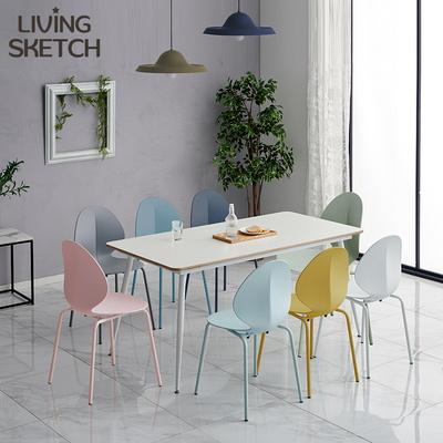 리빙스케치 뮤즈 바비 체어 식탁용 회의실 로비 의자