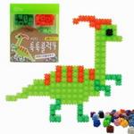 이지 툭툭블럭 공룡만들기(파라사우롤로푸스)