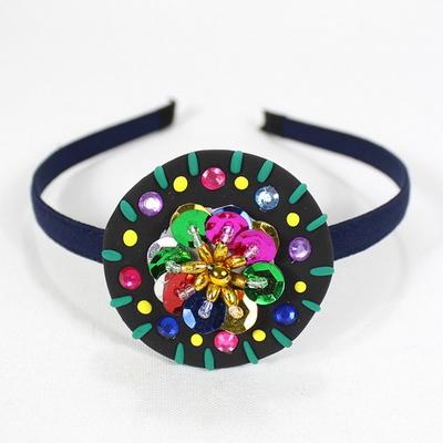민속 전통의상 배시 머리띠 만들기(1개세트)