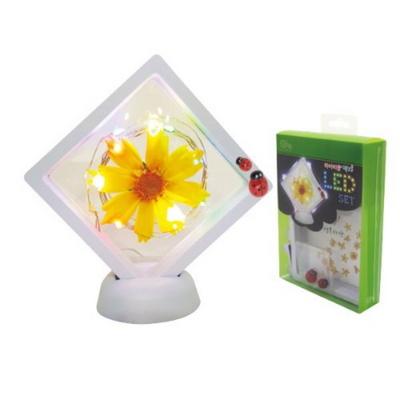 하바리움 액자 LED 선물세트 만들기_프리저브드 플라워