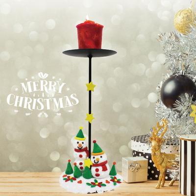 크리스마스 촛대 만들기 (1인용)