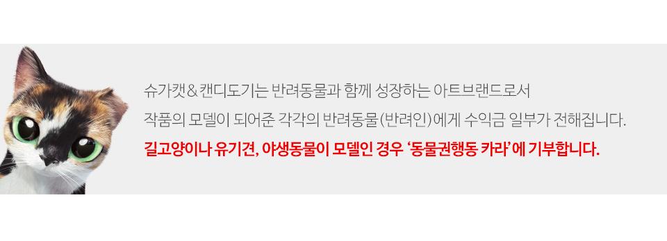 달이와 친구들 미니에코백 - 슈가캣 캔디도기, 12,000원, 캔버스/에코백, 일러스트캔버스백