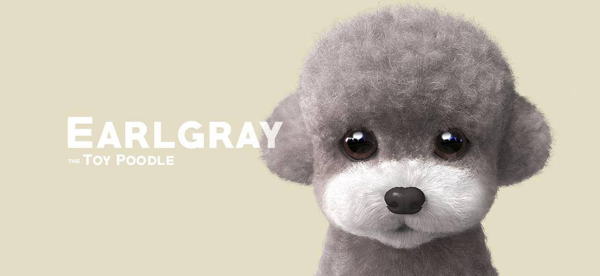 회색푸들 얼그레이 얼굴 에어팟 TPU케이스 - 슈가캣 캔디도기, 13,000원, 이어폰, 이어폰 악세서리