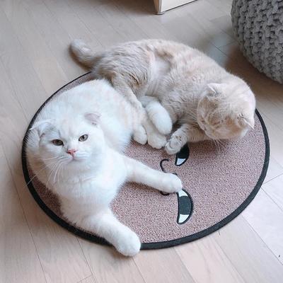 스크래쳐용 고양이 소환 러그 Pink