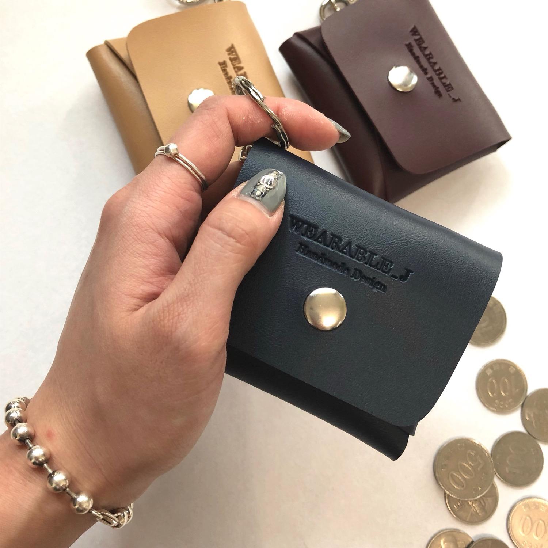 웨어러블J - 노멀 동전지갑 키링 (5color) - 웨어러블J, 9,500원, 동전/카드지갑, 동전지갑