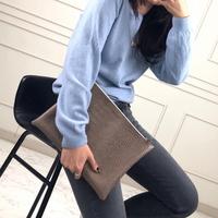 웨어러블J - 파이톤 모던 클러치백 남자클러치백 커플 가방 (4color)