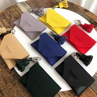 웨어러블J - 빌렛 카드지갑 태슬 키링 (7color)