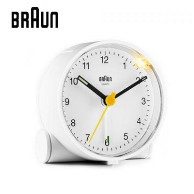 브라운 탁상용 알람시계 BC01W
