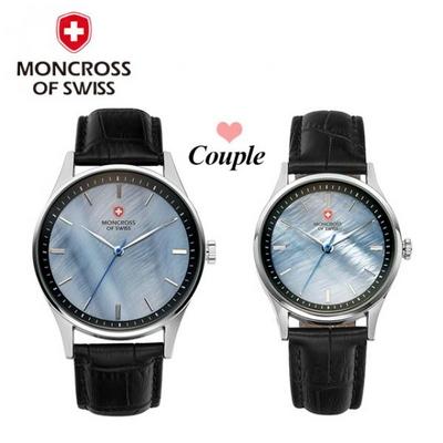 몽크로스 커플시계 MS1730 Black