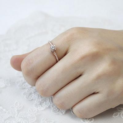[주문제작] 디유아모르 18k 반지 글로리 링