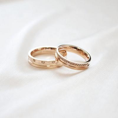[주문제작] 디유아모르 18k 반지 러브 링