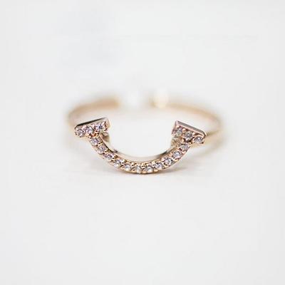 [주문제작] 디유아모르 18k 반지 라인 링