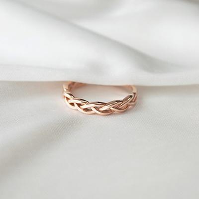 [주문제작] 디유아모르 18k 반지 엔타이스먼트 링