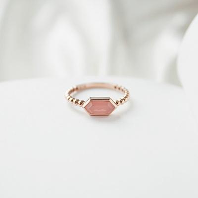 [주문제작] 디유아모르 18k 반지 호야 링
