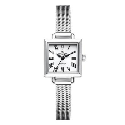 디유아모르 여성 메쉬밴드시계 DAW6102MS-SW 다이아몬드 시계