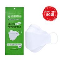 에이스원  KF94 마스크 50개입 국내생산 당일배송