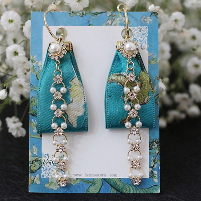고흐-아몬드나무 귀걸이 귀찌