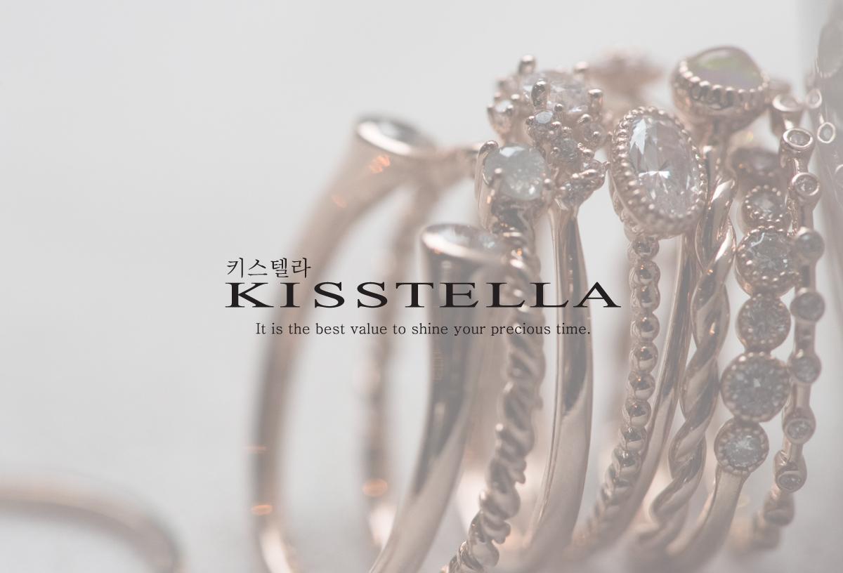 [주문제작] 14k18k 여자친구 선물 데일리 반지 - 키스텔라, 288,000원, 골드, 14K/18K