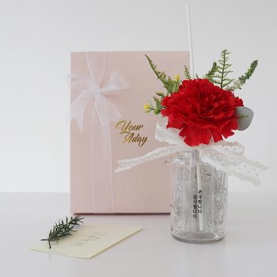 카네이션 디퓨저 무드등 선물세트