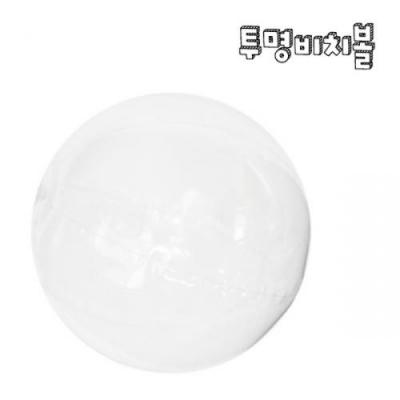 투명비치볼 (5개이상구매) / 여름만들기 비치볼꾸미기